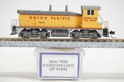 Bachmann N Scale Sw9/1200 Union Pacific Switcher Up 7898 Diesel Locomotive