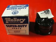 Nos Mallory Distributor Cap V8 4001 Vintage Double Life Chevy Ford Dodge Gasser