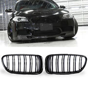 Front Grille Grill Kidney For Bmw 5 Series F10 F11 M5 Style Glossy Black 10-16