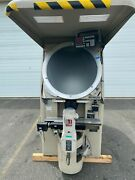 Jones And Lamson 120v 1ph Optical Comparator W/reflection Attach And Dro