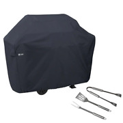 Bbq Gas Grill Cover Water Resistant Protection Grilling Spatula Tongs Fork Tools