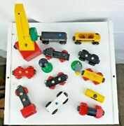 Lot Of Brio Sweden Wooden Toys