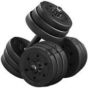 Weight Dumbbell Set 44 Lb Adjustable For Men And Women Home Body Building Training