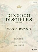Kingdom Disciples - Bible Study Book By Tony Evans New