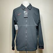 Nike Therma Softshell Football Fleece Lined Jacket Midweight Men's Large New