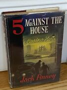 Five Against The House First Edition By Jack Finney Eyre And Spottiswoode