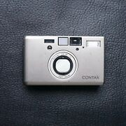 Contax T3 W/ Carl Zeiss Sonnar 35mm F/2.8 T Titanium Point-and-shoot Film Camera