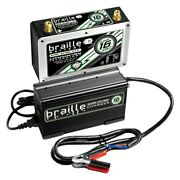 Braille Battery B168lc Super Lithium 16v Battery W Rapid Charger