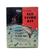 Vintage Noll No 101 Super Fly Tying Kit Fishing Vintage Collectible Gift 1969-70