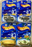Hot Wheels 2002 Federal Vehicles Series 54407 164 Scale Diecast Set Of 4
