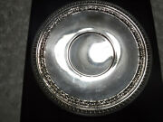 """Vintage Reed And Barton Silver Plate 1201 Round Platter Dish Tray 10 1/2"""""""