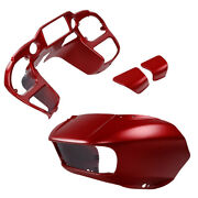 Fairings Glove Box Door Fit For Harley Road Glide Special 2019 Wicked Red Denim