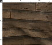 Stained Planks Wood Weathered Antique Vintage Spoonflower Fabric By The Yard