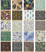 Ambesonne Print Leaf Microfiber Fabric By The Yard For Arts And Crafts