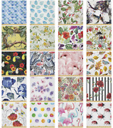 Ambesonne Watercolor Art Microfiber Fabric By The Yard For Arts And Crafts