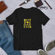 Best Dog Dad Ever Shirt Gift Funny Vintage Fathers Lover Tee Short-sleeve