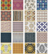 Ambesonne Moroccan Microfiber Fabric By The Yard For Arts And Crafts