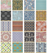 Ambesonne Oriental Microfiber Fabric By The Yard For Arts And Crafts