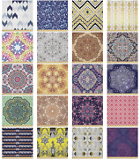 Ambesonne Oriental Print Microfiber Fabric By The Yard For Arts And Crafts