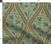 Forest Renaissance Victorian Gothic Medieval Arts Spoonflower Fabric By The Yard