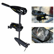 58lbs Thrust Electric Trolling Motor Outboard Engine For Fishing Boat 12v 612w