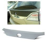 Rear Trunk Spoiler Middle Wing Lips Fit For Lexus 10-15 Rx350 Rx450 Unpainted Pu