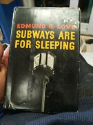 Subways Are For Sleeping By Love, Edmund G.
