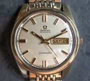 Omega Seamaster Day-date 1969 36mm Automatic Menand039s Watch Original Bracelet