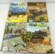 Hon3 Annual From 2010-2013 Lot Of 4 Ec  T234h