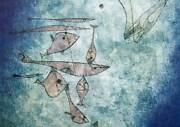Paul Klee Lithograph Fischbildfish Image Limited Ed. W/frame Included