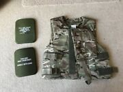 British Army Mtp Flak Vest With Soft Armour 180/104
