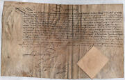 King Louis Xiii France - Manuscript Document Unsigned 06/26/1632