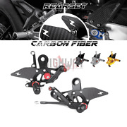 Carbon Rearsets Footrests Rear Set Foot Rests For Yamaha Mt09 Fz09 Xsr900 14-20
