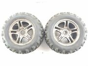 Traxxas T-maxx E-maxx Geode 1/8 3.8 Monster Truck Tires On 17mm Hex Wheels Used