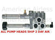 Reconditioned Srmw22g26 Complete Pump Head Assy For Rmw22g24 Pumps No Unloader