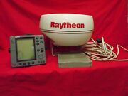 Raytheon Pathfinder Radar 2kw 18 With Display And Cables