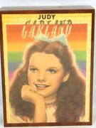 Rare Young Judy Garland In The Wizard Of Oz Wood Music Box Reuge Made In Italy