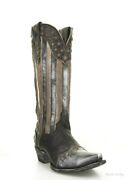 Yl 470-1 Yippee Ki Yay By Old Gringo Bloom Black Fusil Patriotic 15 Boots