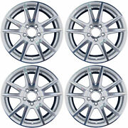 New Set Of 4 Replacement 17 Alloy Wheels Rims For 2004-2006 Honda S2000