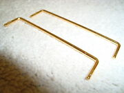Lgb 69232 Tender Front And Rear Brass Grab Rail Parts Set Of 2 Pieces Brand New