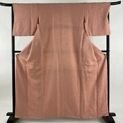 Iromuji Excellent Article One Crest Jimon Pink Length162.5 Sleeve Length68 L...