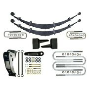 For Ford F-250 Super Duty 99-04 Suspension Lift Kit Icon 4 X 4 Leaf Spring