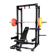 Body-solid Spr500backp4 Proclub Line Commercial Extended Half Rack Package New