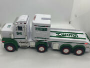 Hess Toy Truck 2013 With Lights - Box Damage L 13 W 3.5 H 4.5