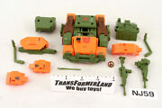 Roadbuster Incomplete Deluxe 1985 Vintage Hasbro G1 Transformers Action Figure
