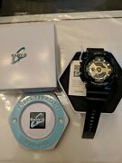 Casio Baby G Shock Womenand039s Black With Gold Face 5338 Ba-110 Watch