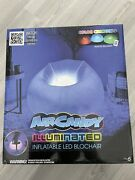 Air Candy Illuminated Led Inflatable Chair Indoor-outdoor Color Change W/remote
