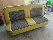 67-72 Chevy Gmc C10 C20 C30 Bench Seat Reupholstered Used