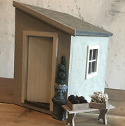 Dolls House 112 Lean To Garden Building Shed