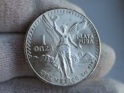 Mexico 1984 Onza Libertad One Ounce Silver Coin Uncirculated Last One